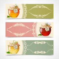 Honey banners horizontal