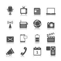 media pictogrammen instellen