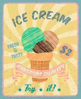 Ice-cream poster