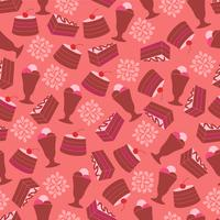 Nahtloses Muster des Restaurants