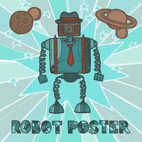 hipster robot design