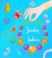 Jewelry fashion poster