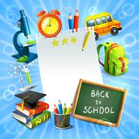 Back to school concept template