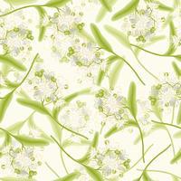 Linden seamless background