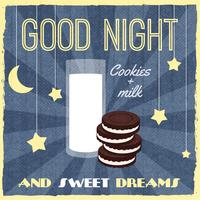 Süßigkeiten Retro Poster