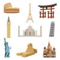 World famous landmarks