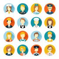 Beroep-avatar op cirkels