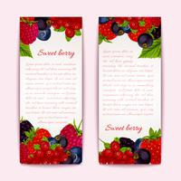 Berries banners vertical
