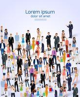 Cartaz do grupo de pessoas