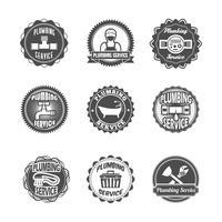Etichette per servizi idraulici