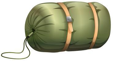 Sleeping bag tent