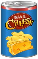 Mac e queijo em lata
