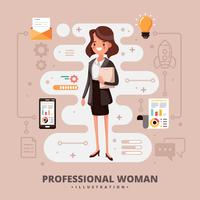 Professional Woman vector