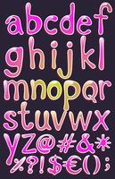 Alfabetos vetor