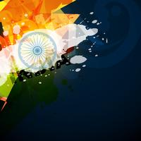 bandera india abstracta