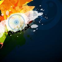 bandiera indiana astratta