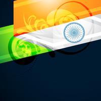 diseño de la bandera india