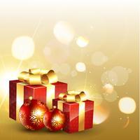 boîte de cadeau de vecteur