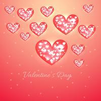 valentijn dag hart achtergrond