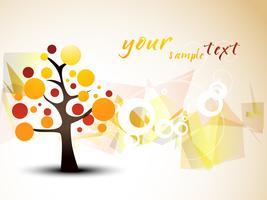 diseño del árbol del vector