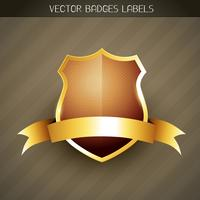 etiqueta elegante vector