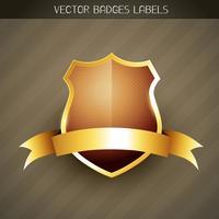 elegant label vector