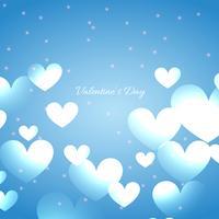 fundo de corações lindos