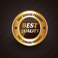 best quality premium label badge with genuine products design