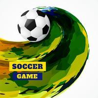 abstrakt grunge stil fotboll