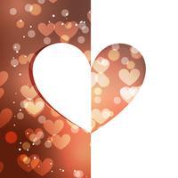 schöner Herzhintergrund