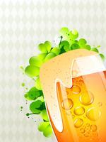 vettore di boccale di birra