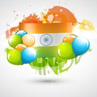 indische Flagge Design