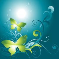 borboleta linda vector