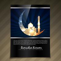 muslimisches Festival Design