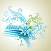 flor abstrata