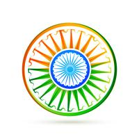 beautiful creative vector indian flag design