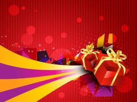Geschenkbox Illustration