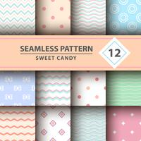 Sweet candy, Merry Christmas pattern.