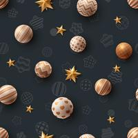 Happy birthday. Beautiful seamless pattern.