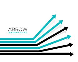 progettazione di sfondo in movimento frecce in avanti