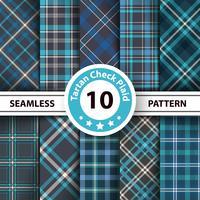 Classic tartan, Merry Christmas seamless patterns.