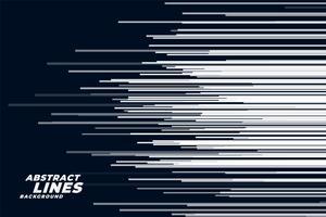 komisk horisontell hastighet linjer bakgrund