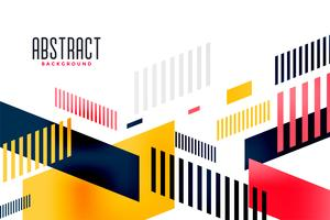 abstrakt ljus färgrik modern trendig banderollskomposition