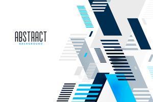 abstrakt blå linjekomposition presentation banner