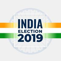 indian election concept poster design