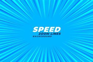 astratto comico zoom velocità linee di fondo