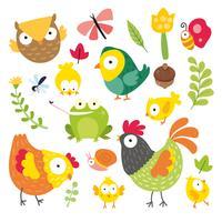 la conception des personnages animaux