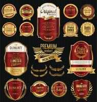 Olijfolie retro labels-collectie
