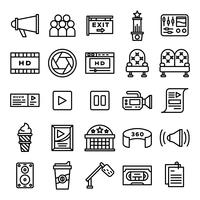 Cinema icons pack