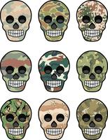 army emblem with skull